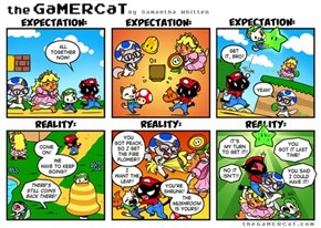 The Reality of Multiplayer Mario Games