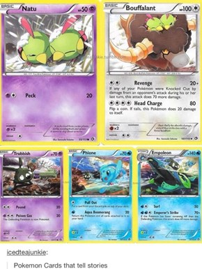 Pokémon Cards That Tell Stories