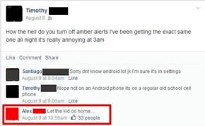Push Notifications? Fine. Amber Alerts? No Way.