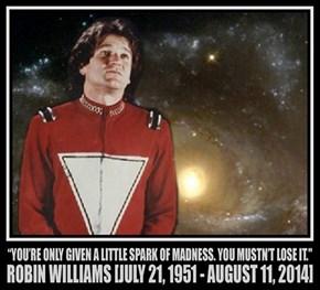 Farewell, Mr Funnyman.