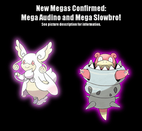 New Mega Evolutions Confirmed!