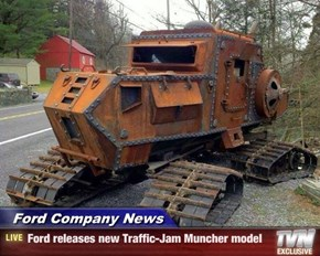 Ford Company News - Ford releases new Traffic-Jam Muncher model