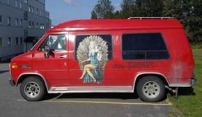 How Do You Make a Creeper Van More Creepy?