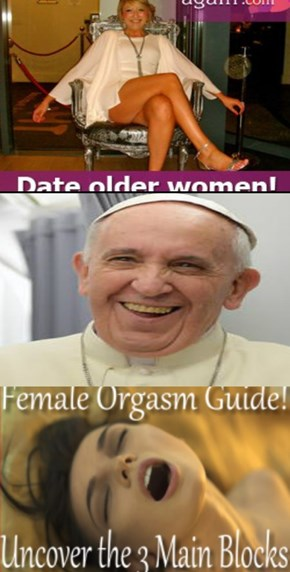 Pope Decides to Try Women Instead of Boys