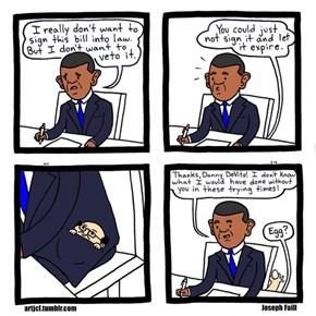 Obama's Secret Helper