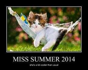 MISS SUMMER 2014