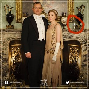 Something Isn't Quite Right With This Downton Abbey Promotional Shot