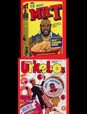 Minority cereals our kids want back...I can't stand rap!?