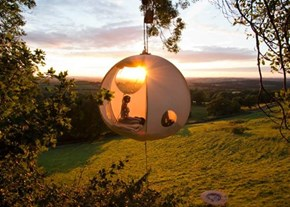 If You're Going Camping, Why Not do it in Your Own Nest?