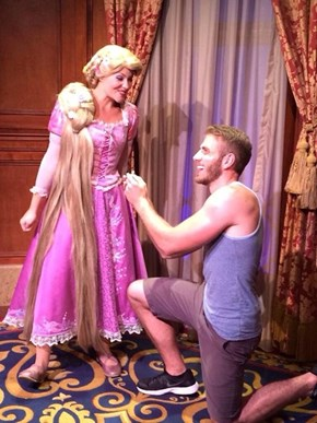 Proposing to a Princess (Of the Disney Variety)