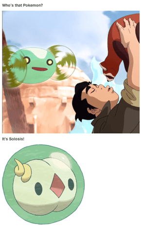 Does That Mean Korra is a Pokémon Trainer?