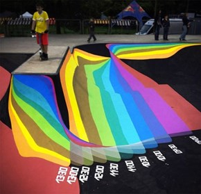 The Design of This Skate Park Doubles as a Sundial!