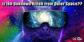 Iz teh Unknown Kitteh from Outer Space??