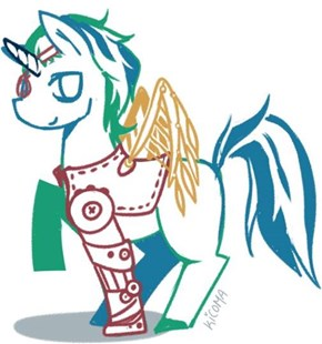 Steampunk Unicoen #2 (a.k.a. Remember that one OC pony that was Featured on My Little Brony?