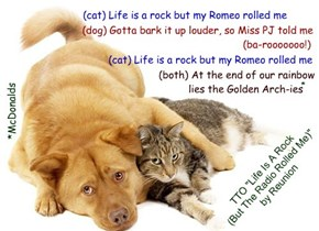 """""""Nommers Unite"""" (TTO """"Life Is A Rock (But The Radio Rolled Me)"""" by Reunion)"""