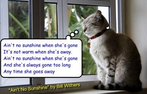 """Ain't No Sunshine"" by Bill Withers"