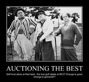 AUCTIONING THE BEST
