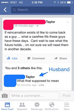 She Doesn't Need Her Husband in 10 Years