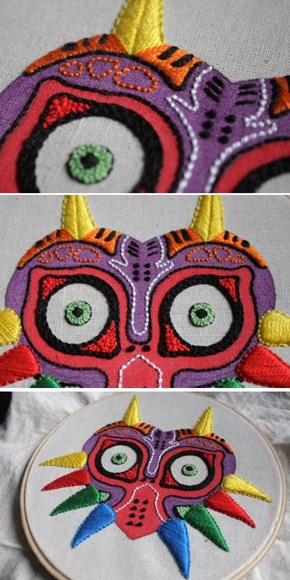 The Legned of Majora's Emroidery