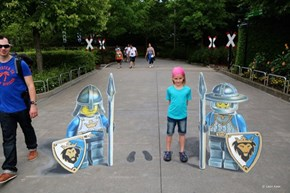 Welcome to LEGOland, Here's Your Mind-Boggling Chalk Art