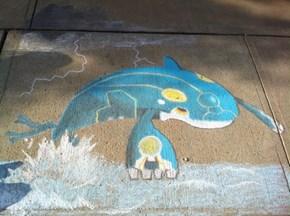 Primal Chalk Art
