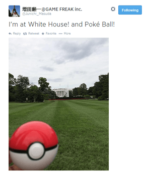 Masuda is About to Challenge Obama to a Pokémon Battle