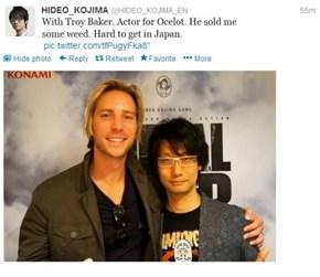 Hideo Kojima Likes to Party
