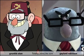 grunkle stan Totally Looks Like gaylord robinson