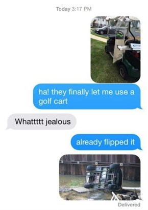 Great Golf Carts, Great Responsibility
