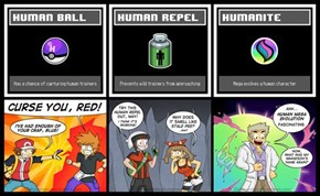 Human Pokémon Items