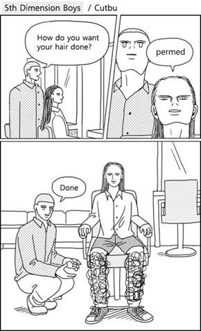 Men's Hairstyling Has Gotten Complex