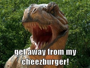 get away from my cheezburger!