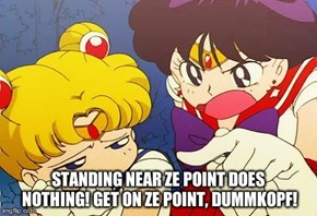 Get on the Point Usagi!