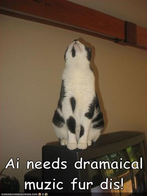 Ai needs dramaical muzic fur dis!
