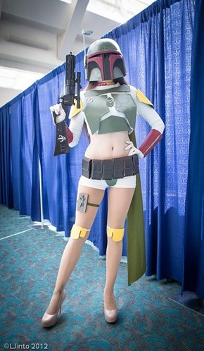 This Boba Fett Has a Whole New Arsenal Under Her Belt