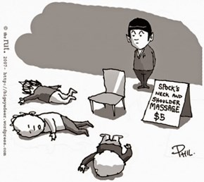 Spock's New Job