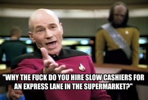 SLOW CASHIERS
