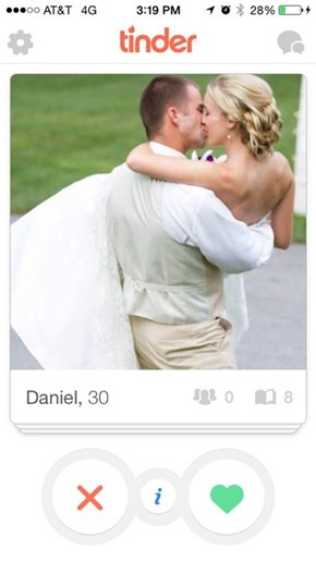 Why Does He Need a Tinder Account?