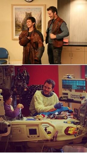 Chris Pratt Really Is Best Dude In The Galaxy