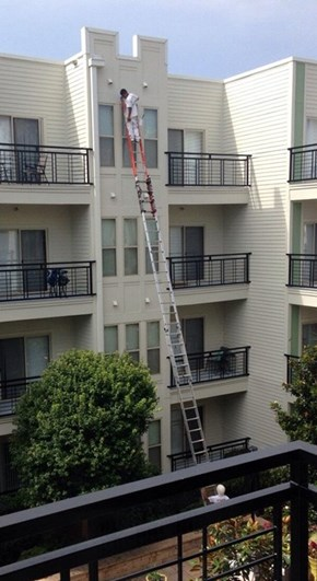 The Only Answer is More Ladders