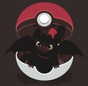 GO! Toothless!