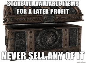 First World Skyrim Problem