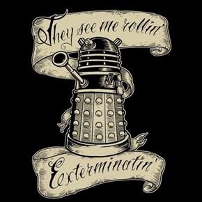 Riding Dalek