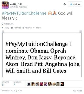 A Different Kind of Social Media Challenge for the Generation of Debt
