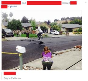 Earthquake hit Napa California this morning