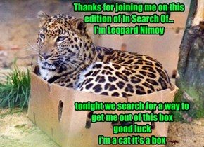 Next Week: How Leopards Get Their Spocks