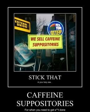 CAFFEINE SUPPOSITORIES