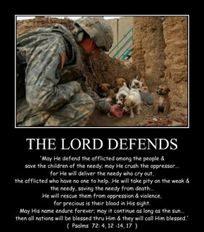 THE LORD DEFENDS