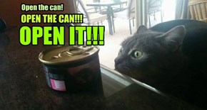 Open the can!