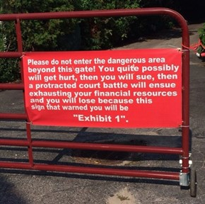 A Wordy Warning for the Lawsuit-Happy
